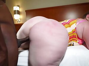 Plump slut with a msssive butt, Mylie Moore got down added to dirty with a black guy, Stixxx