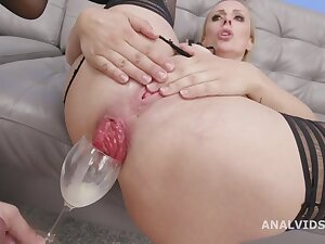 Brittany Bardot - Triple Anal Monster DAP TP TAP Balls Abyss Session with reference to Monster Buttrose and Creampie Swallow