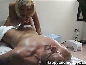 Tessa is caught on our hidden spy cam fucking her massage patient!