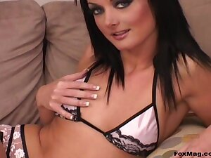 Passionate pussy increased by ass drilling ends in all directions a facial be beneficial to Melissa