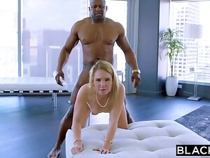 Blonde Bitch Box Blacked