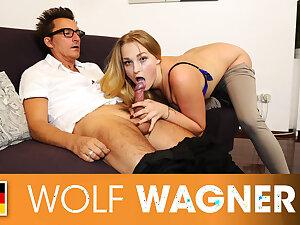 Ill teen Scarlett picked up & boned hard! Wolfwagner.com