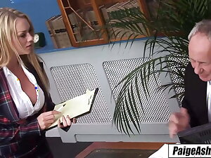 Paige Ashley – along to life of along to party, double penetration, riding