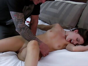 Brooke gets bound coupled with uplifted